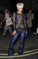 Hattie Keane attends LFW s/s 2017: Pam Hogg catwalk show & afterparty during London Fashion Week at The Freemasons' Hall in London. UK. 16/09/2016<br />