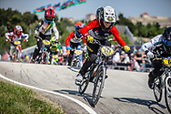 10 Boys #147 (VENTURINI Terry) FRA at the 2018 UCI BMX World Championships in Baku, Azerbaijan.