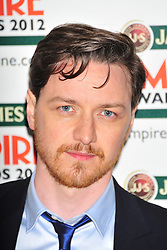 © Licensed to London News Pictures. 25/03/2012. London, England. James McAvoy attends the  Jameson Empire Awards held at the Grosvenor Hotel London  Photo credit : ALAN ROXBOROUGH/LNP
