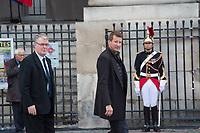 Yannick Jadot_Jean Paul Delevoye Obsèques de Jacques Chirac Lundi 30 Septembre 2019 église Saint Sulpice Paris