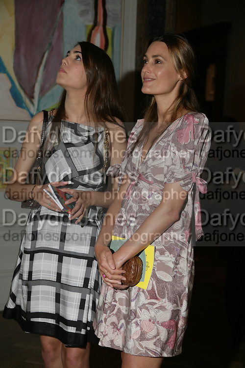 AMBER LE BON AND YASMIN LE BON, Royal  Academy of  Arts summer exhibition opening night. Royal academy. Piccadilly. London. 6 June 2007.  -DO NOT ARCHIVE-© Copyright Photograph by Dafydd Jones. 248 Clapham Rd. London SW9 0PZ. Tel 0207 820 0771. www.dafjones.com.
