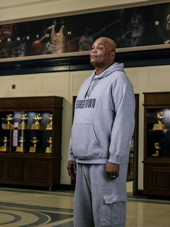 Michael Graham, 51, a former basketball player for Georgetown University who helped the team bring home a National Championship, recently won a $1 million prize in Powerball and wants to open up two bar-b-que restaurants in Maryland.