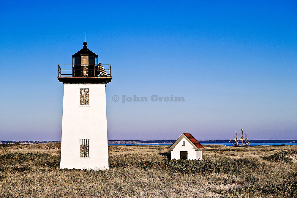 Wood End Lighthouse, Provincetown, Cape Cod, MA, Massachusetts, USA