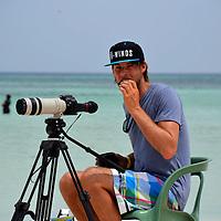 Tim van den Donker in Aruba Hi Winds 2012. Aruba Island, July 3-July 9, 2012. International Competition windsurfing and kite surfing. Jimmy Villalta & Valentina Calatrava