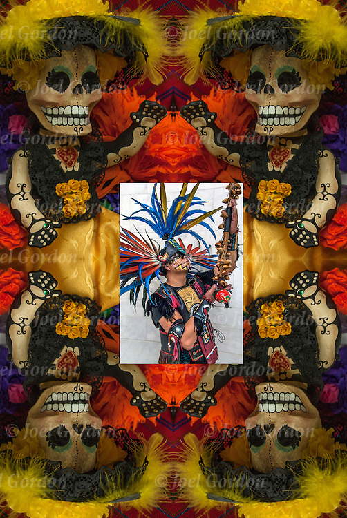 Day of the Dead (Spanish: D&iacute;a de Muertos) <br /> <br /> The roots are pre-Colombian, and many of the symbols and practices are from indigenous groups of Meso America ( Maya and Aztec ).<br /> <br /> Day of the Dead is not a sad or scary occasion, but a spirited holiday when people remember and honor family member who have died. The philosophy that death is not something to be feared, but a natural part of life.<br /> <br /> Private and community altars called ofrendas, honoring the deceased display portraits, favorite foods and special possession of their love ones, using sugar skulls, marigolds, candles and the favorite foods and beverages of the departed, and visiting graves with these as gifts. Visitors also leave possessions of the deceased at the graves.