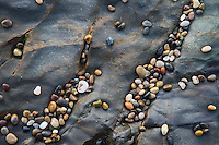 Pebble Beach Colorful Rocks, Bean Hollow State Beach, California