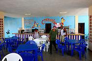 Ice cream parlor in Candelaria, Artemisa, Cuba.
