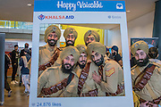 Actors in the uniform of the 15th Sikh Regiment, who fought in the First World War, They are part of a National Army Museum display. The Vaisakhi Festival at City Hall and More London Riverside on Saturday 9 April, celebrating the holiest day of the Sikh calendar. This year's celebrations will take place just before the official Vaisakhi festival on 13 April which commemorates the beginning of Sikhism as a collective faith and London's celebrations are an opportunity for people from all communities, faiths and backgrounds to experience a festival that is celebrated by over 126,000 Sikhs who live in the capital and 20 million people across the world.