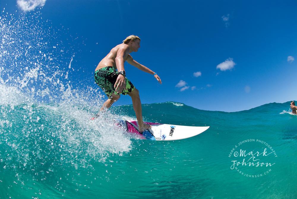 Surfing in Queensland, Australia