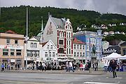 Bergen, Norway the wharf