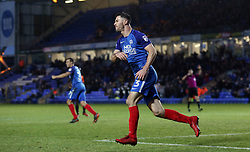 Andrew Hughes of Peterborough United reacts after having a late goal disallowed - Mandatory by-line: Joe Dent/JMP - 03/02/2018 - FOOTBALL - ABAX Stadium - Peterborough, England - Peterborough United v Southend United - Sky Bet League One