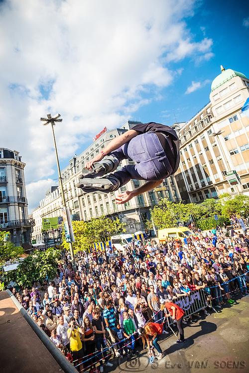 Zot Day 2016 - Dimanche sans voiture à Bruxelles. Gauthier PIRET