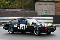 #20 James Aukland Ford Capri 3907  during CNC Heads Sports / Saloon Championship as part of the BARC NW Championship Raceday at Oulton Park, Little Budworth, Cheshire, United Kingdom. October 21 2017. World Copyright Peter Taylor/PSP.