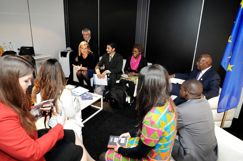 20150603- Brussels - Belgium - 03 June2015 - European Development Days - EDD  -  Sam Kutesa and Mogherini meet you participants © EU/UE