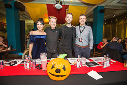 The judges. Hard Rock Cafe Glasgow played host to the Europe Finals of the annual, global BARocker Championship.