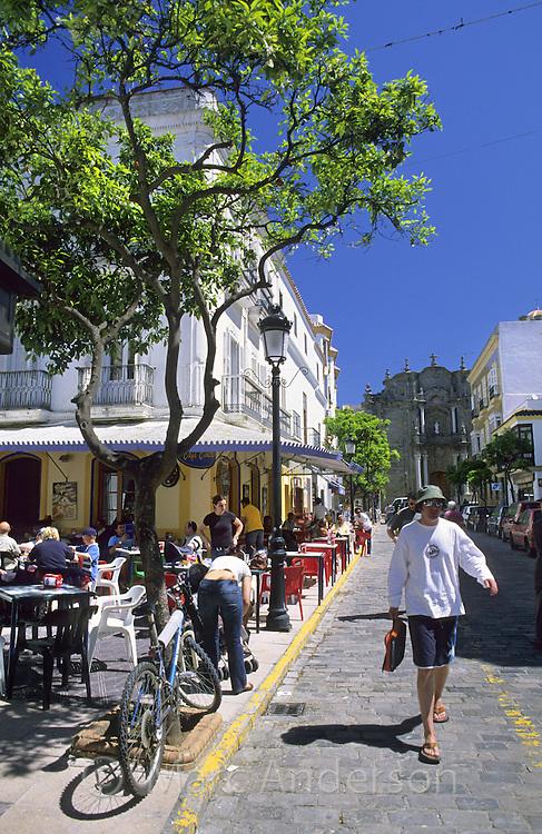 Street scene, Tarifa, Costa de la Luz, Spain
