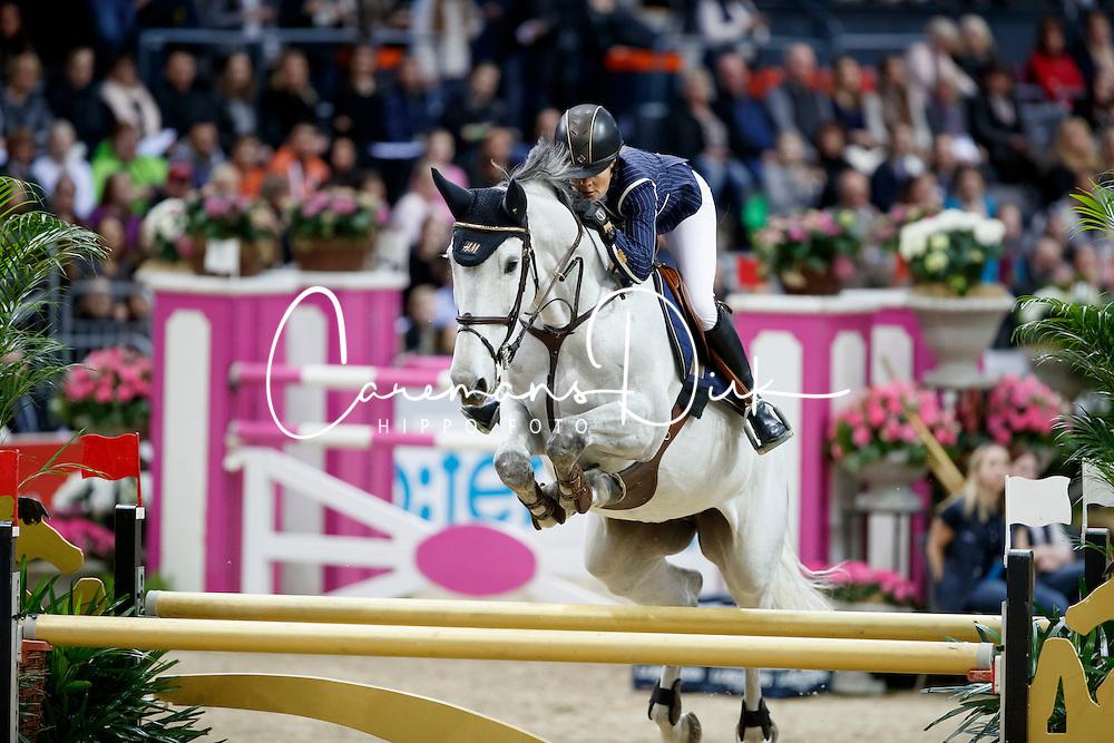 Baryard-Johnsson Malin, SWE, H&M Cue Channa 42<br /> Gothenburg Horse Show FEI World Cups 2017<br /> © Hippo Foto - Stefan Lafrentz