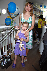 TANA RAMSAY and her daughter MATILDA at a party to celebrate the 21st birthday of the children's charity Starlight held at Maggie & Rose, 58 Pembroke Road, London W8 on 12th May 2008.<br />