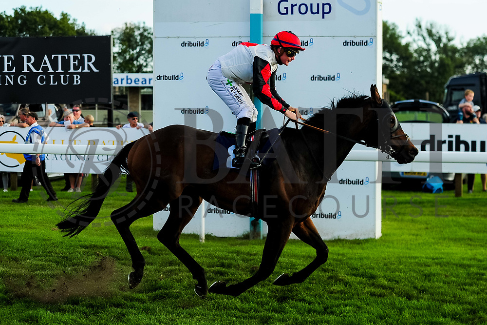 Mamnoon ridden by Kieran O'Neill and trained by Roy Brotherton in the Freshers Handicap race.  - Ryan Hiscott/JMP - 15/09/2019 - PR - Bath Racecourse - Bath, England - Race Meeting at Bath Racecourse