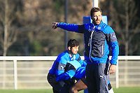 Shaun SOWERBY - 31.12.2014 - Rugby - Entrainement Montpellier - Top 14<br />Photo : Nicolas Guyonnet / Icon Sport