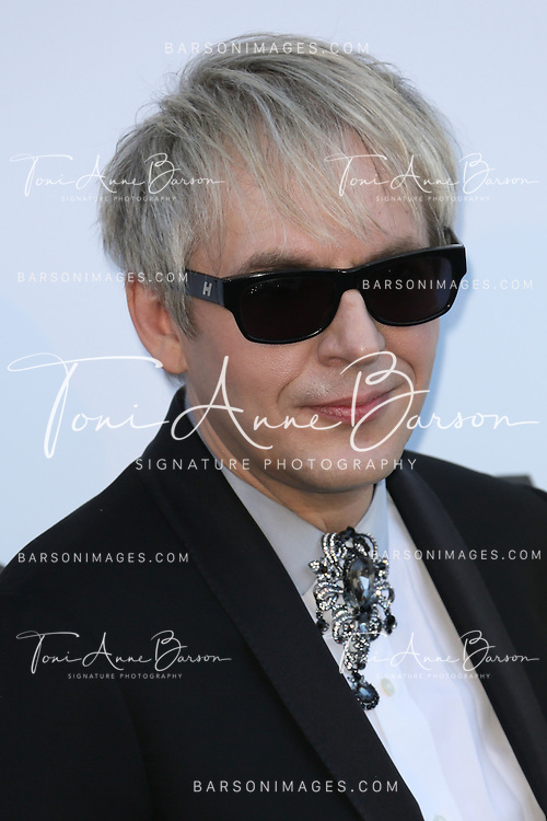 CAP D'ANTIBES, FRANCE - MAY 23: Nick Rhodes of Duran Duran arrives at amfAR's 20th Annual Cinema Against AIDS at Hotel du Cap-Eden-Roc on May 23, 2013 in Cap d'Antibes, France.  (Photo by Tony Barson/FilmMagic,)