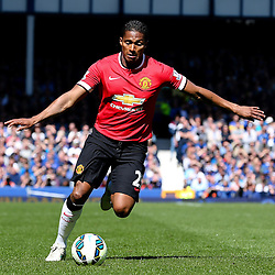Antonio Valencia of Manchester United in action  - Photo mandatory by-line: Matt McNulty/JMP - Mobile: 07966 386802 - 26/04/2015 - SPORT - Football - Liverpool - Goodison Park - Everton v Manchester United - Barclays Premier League