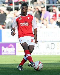 Rotherham United's Kieran Agard - Photo mandatory by-line: Joe Dent/JMP - Tel: Mobile: 07966 386802 28/09/2013 - SPORT - FOOTBALL - New York Stadium - Rotherham - Rotherham United V Peterborough United - Sky Bet One