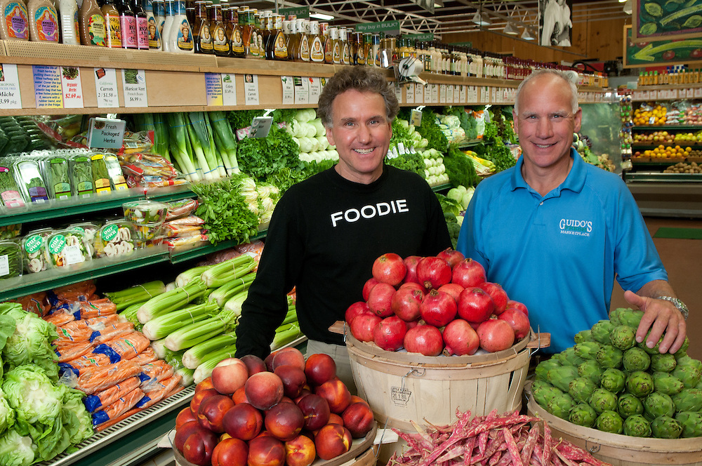 "Masiero brothers owners of Guido""s Fresh Market Place in Great Barrington, MA"