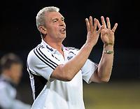 Fotball<br /> Tyskland<br /> Foto: Witters/Digitalsport<br /> NORWAY ONLY<br /> <br /> 31.07.2009<br /> <br /> Trainer Dietmar Demuth Babelsberg<br /> <br /> DFB-Pokal SV Babelsberg 03 - Bayer 04 Leverkusen
