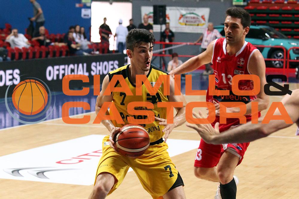 LNP &ndash; Final Four Serie B - UNIEURO FORLI vs DINO BIGIONI SHOES MONTEGRANARO<br /> <br /> Nella foto: Sanna Massimiliano