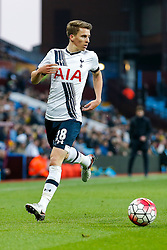 Tom Carroll of Tottenham Hotspur in action - Mandatory byline: Rogan Thomson/JMP - 13/03/2016 - FOOTBALL - Villa Park Stadium - Birmingham, England - Aston Villa v Tottenham Hotspur - Barclays Premier League.