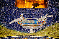 Italie, Emilie-Romagne, Ravenne, le mausolée de Galla Placidia, patrimoine mondial de l'UNESCO //Italy, Emilia-Romagna, Ravenna, Galla Placidia Mausoleum, UNESCO world heritage