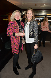 Left to right, BELINDA ROBEY and AMY WILLIAMS at a screening of Paramount Pictures 'Allied' hosted by Rosie Nixon of Hello! Magazine at The Bulgari Hotel, 171 Knightsbridge, London on 23rd November 2016.