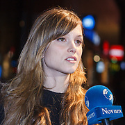 NLD/Amsterdam\/20131028 -Opening Amsterdam Film Week 2013, premiere 12 Years a Slave, Sylvia Hoeks