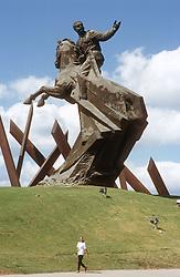 Statue of Antonio Maceo in Santiago; Cuba,