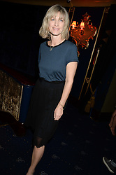 NICOLA FORMBY at the Hoping Foundation's 'Rock On' Benefit Evening for Palestinian refuge children held at the Cafe de Paris, London on 20th June 2013.