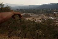 San Rafael Las FLores, Santa Rosa, Guatemala (marzo de 2012).  Las instalaciones de la mina Escobal.  Fundada por un ex-presidente y CEO de la minera canadiense Goldcorp Inc., Tahoe Resources adquirio el proyecto Escobal de la Goldcorp en 2010..PHOTO: Graham Charles Hunt/IMAGENES LIBRES