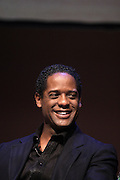 May 7, 2012- New York, NY United States: - Actpr Blair Underwood attends the Theater Talks at the Schomburg: A Streetcar Named Desire held at the Schomburg Center for Research in Black Culture, part of the New York Public Library on May 7, 2012 in Harlem Village, New York City. The Schomburg Center for Research in Black Culture, a research unit of The New York Public Library, is generally recognized as one of the leading institutions of its kind in the world. For over 80 years the Center has collected, preserved, and provided access to materials documenting black life, and promoted the study and interpretation of the history and culture of peoples of African descent.  (Photo by Terrence Jennings) .
