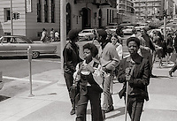 Black Panther Rally San Francisco 1969