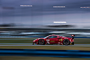 January 24-27, 2019. IMSA Weathertech Series ROLEX Daytona 24. #62 Risi Competizione Ferrari 488 GTE, GTLM: Davide Rigon, Miguel Molina