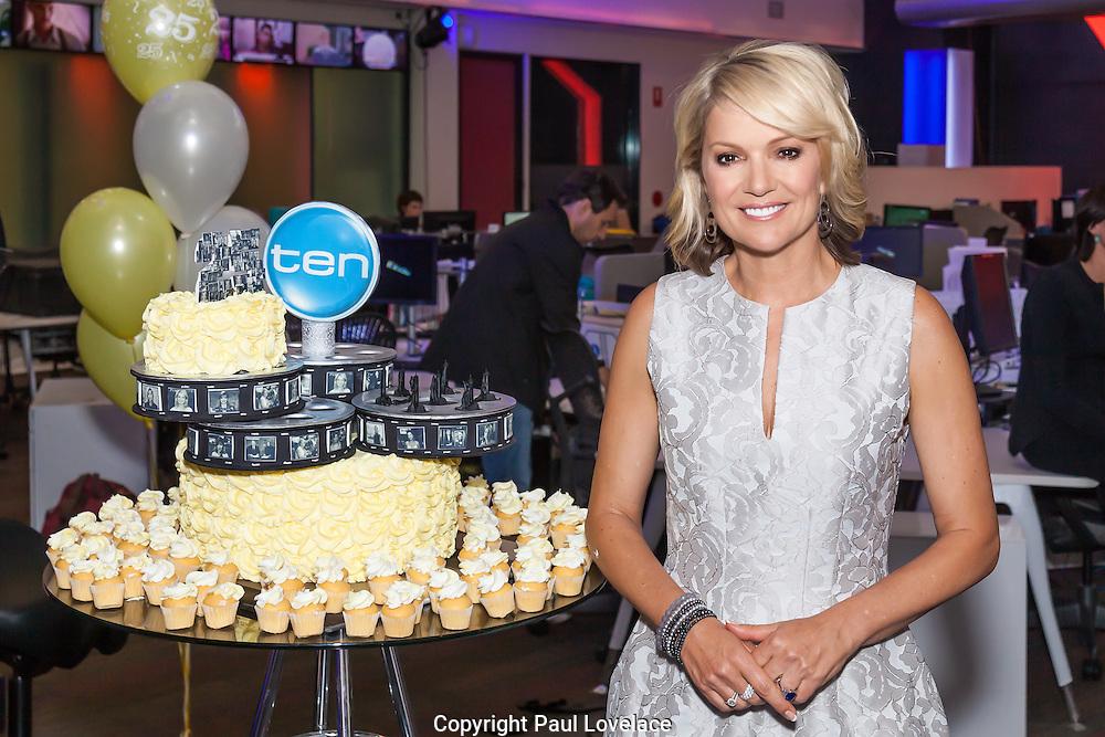 Sandra Sully celebrates 25 years at Network Ten.