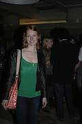 Alicia Witt, The 25th hour post party at the Plaza on the River, 18 Albert Embankment. Culmination of the 24 Hour Plays Celebrity Gala at the Old Vic.London. 8 October 2006.  -DO NOT ARCHIVE-© Copyright Photograph by Dafydd Jones 66 Stockwell Park Rd. London SW9 0DA Tel 020 7733 0108 www.dafjones.com