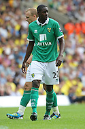 Leon Barnett of Norwich City in action during a pre season friendly at Carrow Road Stadium, Norwich...Picture by Paul Chesterton/Focus Images Ltd.  07904 640267.6/8/11