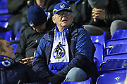 Bristol Rovers fan during the The FA Cup third round replay match between Coventry City and Bristol Rovers at the Trillion Trophy Stadium, Birmingham, England on 14 January 2020.