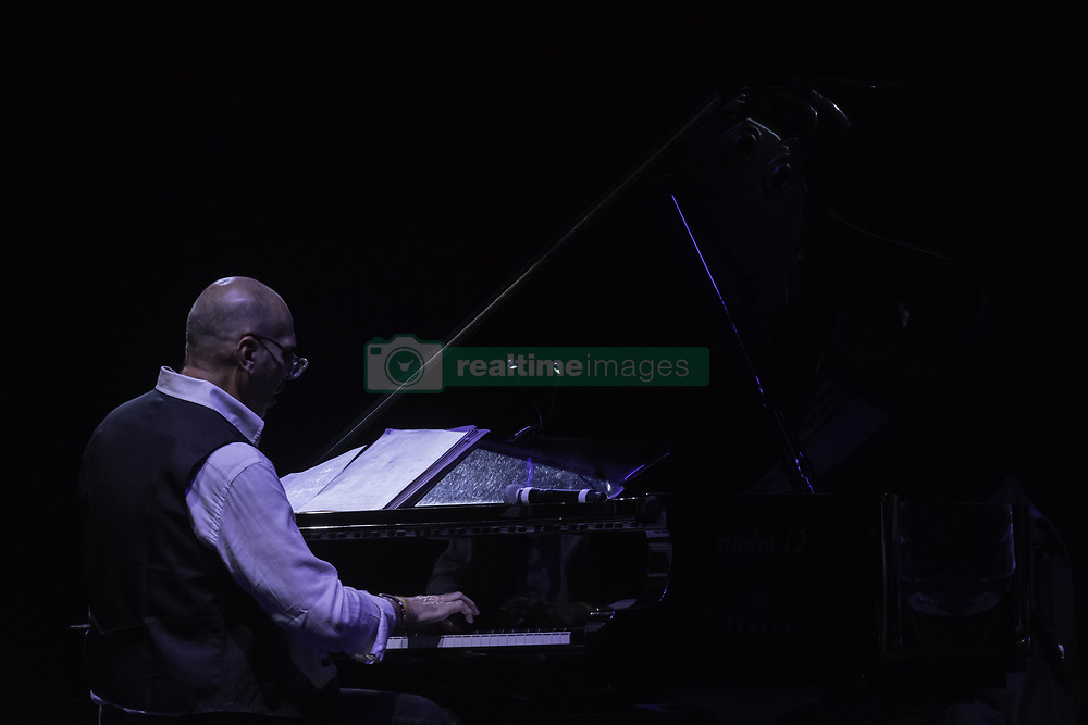 July 21, 2019 - Rome, Italy, Italy - The Trio composed by Peter Erskine on the drums, Eddie Gomez on the double bass and Dado Moroni on the piano, performed on 21/7/2019 on the stage of the Casa del Jazz in Rome during the Summertime 2019 festival. Dado Moroni  (Credit Image: © Leo Claudio De Petris/Pacific Press via ZUMA Wire)