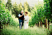 Sheila and Bill Blakeslee owner of Blakeslee Vineyard