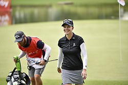 October 26, 2017 - Kuala Lumpur, Malaysia - Madelene Sagstrom of Sweden during day one of the Sime Darby LPGA Malaysia at TPC Kuala Lumpur on October 26, 2017 in Kuala Lumpur, Malaysia. (Credit Image: © Chris Jung/NurPhoto via ZUMA Press)