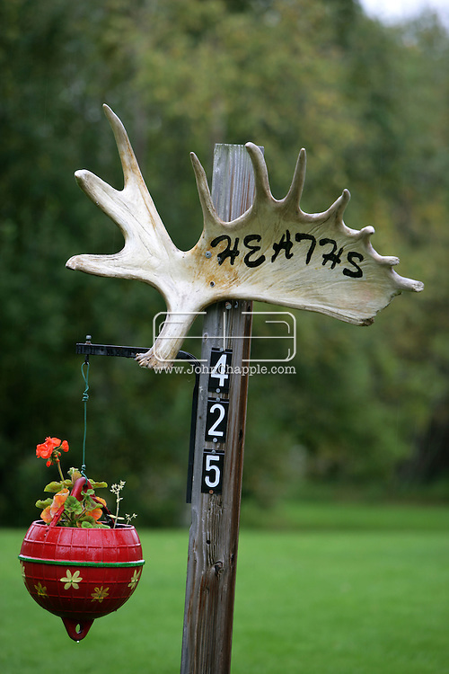 10th September 2008, Wasilla, Alaska. Alaskan Governor Sarah Palin's parents home. Palin is the US Republican Vice Presidential pick. PHOTO © JOHN CHAPPLE / REBEL IMAGES.tel: +1-310-570-910