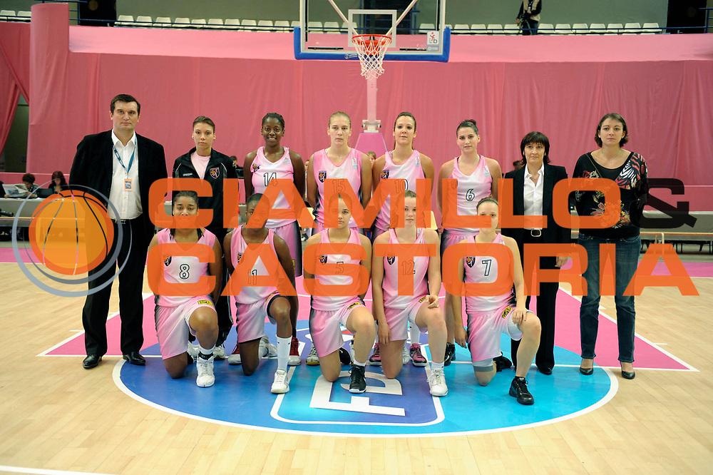 DESCRIZIONE : Ligue Feminine de Basket Open Feminin &agrave; Paris<br /> GIOCATORE : <br /> SQUADRA : Toulouse<br /> EVENTO : Ligue Feminine 2010-2011<br /> GARA : Toulouse Aix en Provence<br /> DATA : 17/10/2010<br /> CATEGORIA : Basketball France Ligue Feminine<br /> SPORT : Basketball<br /> AUTORE : JF Molliere par Agenzia Ciamillo-Castoria <br /> Galleria : France Basket 2010-2011 Action<br /> Fotonotizia : Ligue Feminine de Basket Open Feminin<br /> Predefinita :