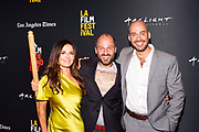 Janet Zuccarini, Director Gabriel Taraboulsy, and Producer / Editor Alexander Emanuele